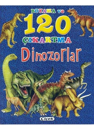 Boyama Ve 120 Çıkartma-Dinozorlar-Çiçek Yayıncılık